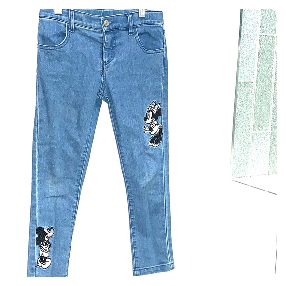 Disney Other - Disney Girls Size 5 Jeans Embroidered
